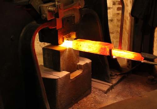 Example of Forging Process - Custom Forging from Tengco, Inc.