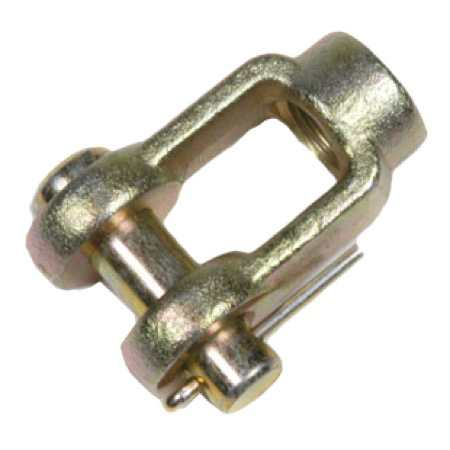 Clevis Yoke and Pin - Custom Forging from Tengco, Inc.