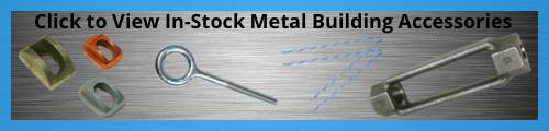 In-Stock Metal Building Accessories - Custom Manufacturing Hardware from Tengco, Inc.