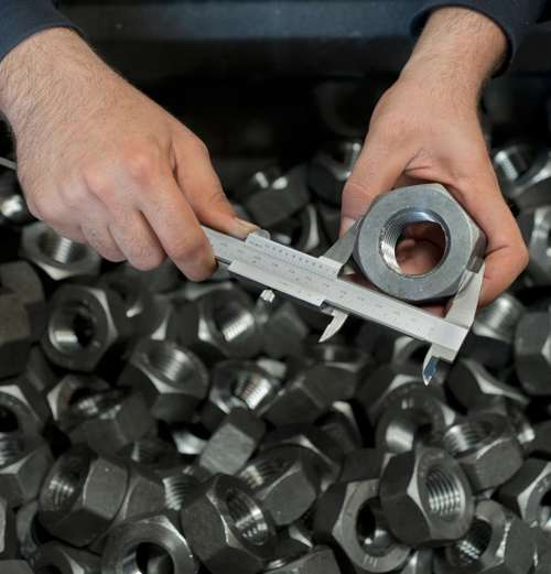 Quality Control Inspection - Custom Manufacturing Hardware from Tengco, Inc.