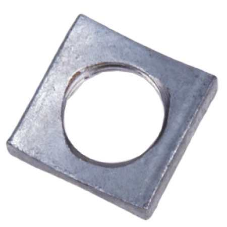 Square MF Locknut - Pole Line Hardware from Tengco, Inc.