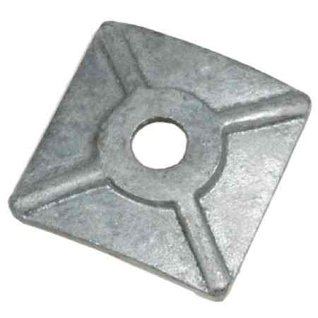 Curved Square Washer - Custom Metal Stampings - Industrial Manufacturing | Tengco, Inc.