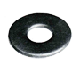 USS Type A Wide Galvanized Round Flat Washers - Pole Line Hardware
