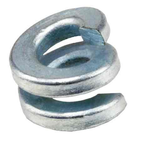 Double Coil Lock Washers For Pole Line Applications