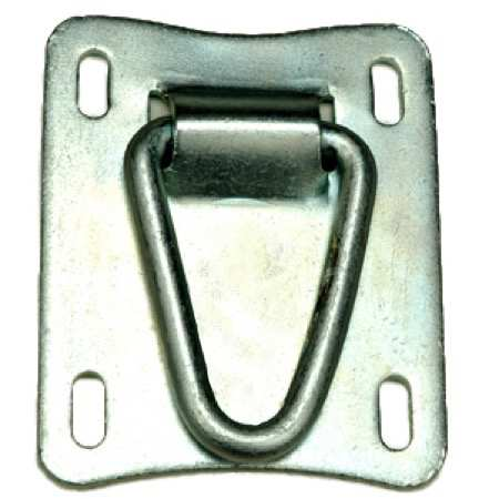 Rail Hitching Loop - Metal Building Hardware by Tengco, Inc.